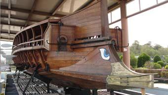 ken curtis, old greek boat