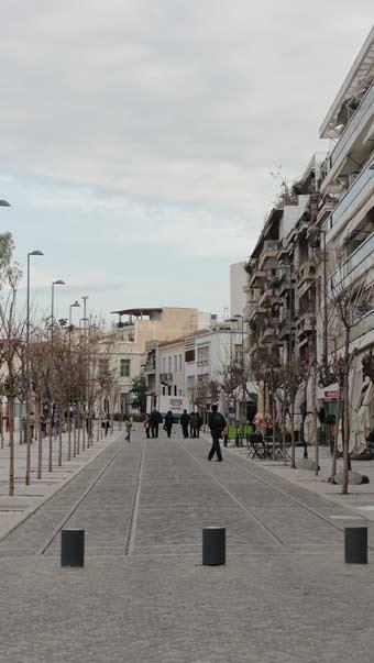 Ken Curtis spring break trip to Athens,narrow streets