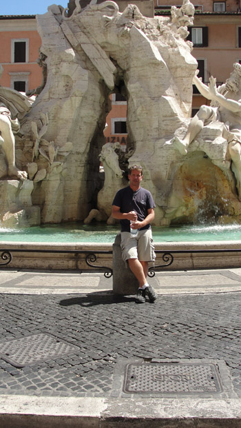 Ken Curtis' summer 2011 holiday, Rome, italy