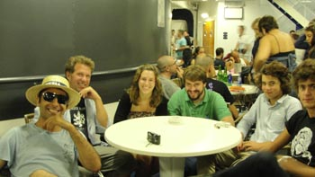 ken curtis' summer 2011 trip, Bari, Italy to Athens ferry ride