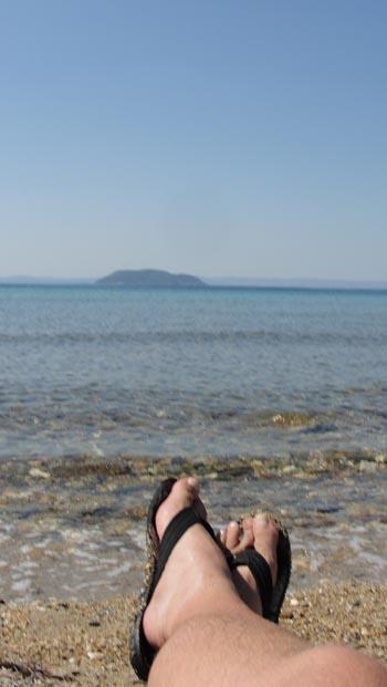 ken curtis' summer 2011 vacation, Neos Marmabas, Greece